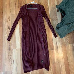 Mossimo Maroon Sweater